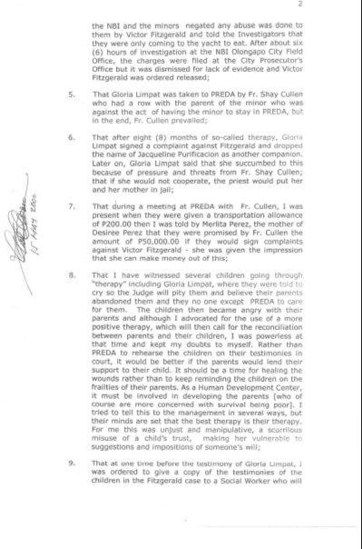 20000501 Affidavit of Rolando M. Basarra page 2