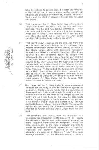 20000501 Affidavit of Rolando M. Basarra page 3