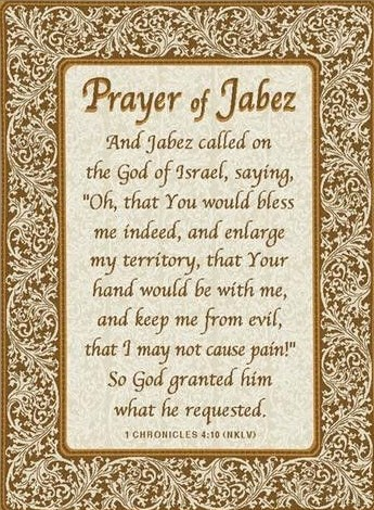 Prayer of jabez (2)